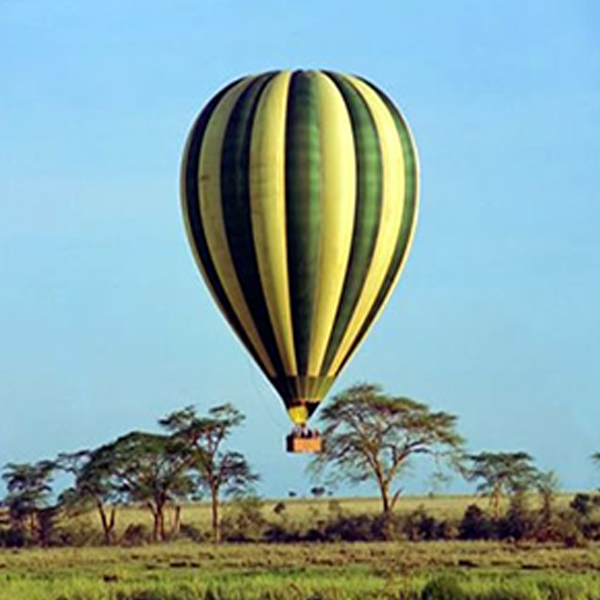 Masai Mara wildlife balloon safari