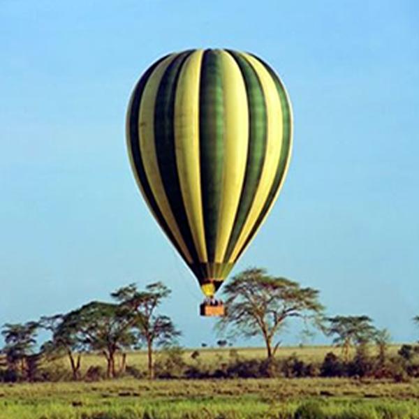 Masai Mara wildlife balloon safari