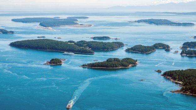 The forgotten Hawaiian Islands in Canada